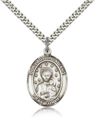 Our Lady of La Vang Sterling Silver Medal 7115-bliss
