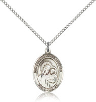 Our Lady of Good Counsel Sterling Silver Medal 8287-bliss