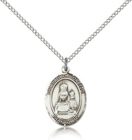 Our Lady of Loretto Sterling Silver Medal 8082-bliss