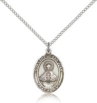 Our Lady of San Juan Sterling Silver Medal 8263-bliss