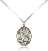Our Lady of Mercy Sterling Silver Medal 8289-bliss