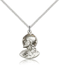 Christ Sterling Silver Medal 4217-bliss
