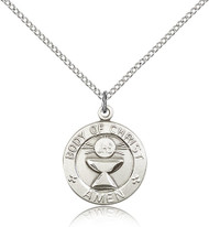 Body of Christ - Amen Sterling Silver Medal 2094-bliss