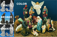 Outdoor Nativity Scene (Full Set)