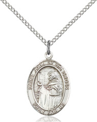 St. John of the Cross Sterling Silver Medal 8231-bliss