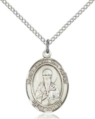 St. Basil the Great Sterling Silver Medal 8275-bliss