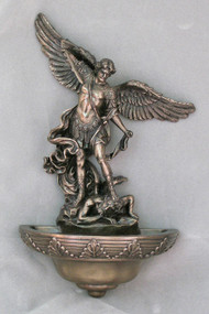 St. Michael Holy Water Font 75362