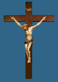 Large Crucifix by Ado Santini AD-422-C