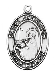 STERLING SILVER ST. IGNATIUS MEDAL