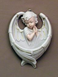 Praying Angel Holy Water Font - MA-401-M
