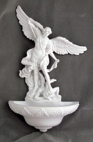St. Michael Holy Water Font 75362-W