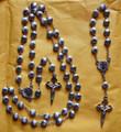 Camino De Santiago St. James Scallop Shell Pilgrim Rosary And Bracelet Set New