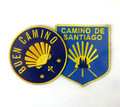 Camino de Santiago Way of St. James Scallop Shell Pilgrim Cloth Patch