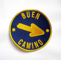 Camino de Santiago Way of St. James Pilgrim Arrow Buen Camino Cloth Patch