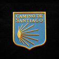 Camino de Santiago Pilgrim Scallop Shell Patch