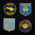 Spanish Door Blues - Camino de Santiago Backpack Patch Set