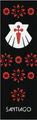 Camino de Santiago Pilgrim Souvenir Printed Fabric Bookmark (7 of 8)