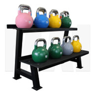 MA1 Commercial 2 Tier Kettlebell Rack