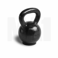 MA1 Black Cast Iron Kettlebell with rubber base 20kg