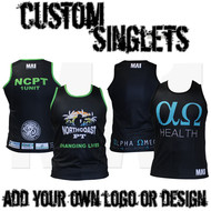 MA1 Club Drifit Singlet - Custom Made
