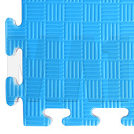 Premium Jigsaw Mat - Blue / Red, 1M x 1M x 20mm