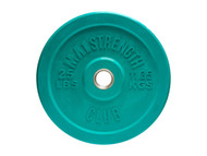 MA1 Club Bumper Plates Colored 25lb Green (Pair)