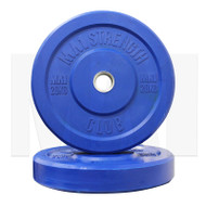 MA1 Club Bumper Plates Colored 45lb Blue (Pair)