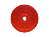 MA1 Club Bumper Plates Colored 55lb Red (Pair)