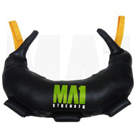 MA1 Bulgarian Training Bag - 5kg, Yellow Straps