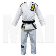 MA1 Gold Weave BJJ  Pro Gi - White