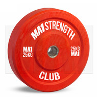 Custom Club Coloured Rubber Bumper Plate