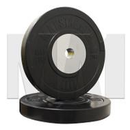 MA1 Elite Bumper Plates Black 20kg (Pairs)