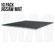 Premium Jigsaw Mat - Black and Grey, 1M x 1M x 40mm