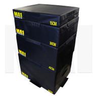 MA1 Foam Plyometric Box Set - 15, 30, 45, 60cm