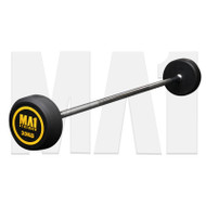 MA1 Fixed Rubber Barbell 30kg