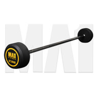 MA1 Fixed Rubber Barbell 37.5kg