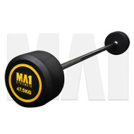 MA1 Fixed Rubber Barbell 47.5kg