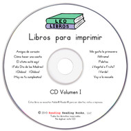 Spanish Printable Books CD