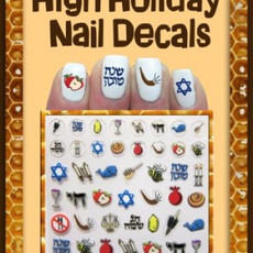 High Holidays Nail Decals
