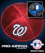 Washington Nationals Yarmulke