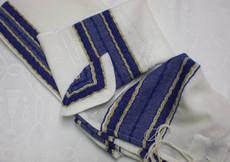 Gabrieli Wool Set with Royal Blue