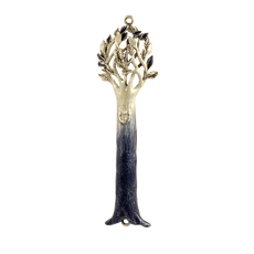 Tree of Life Mezuzah - Blue