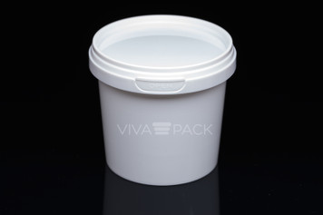 365ml White colour pot with resealable lid Material: Polypropylene Food friendly, tamper proof, 100% leak proof Microwave, dishwasher and freezer safe.
