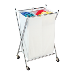 Folding Double Hamper
