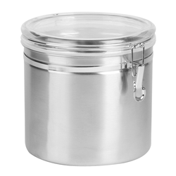 Steel Clamp Top Canisters