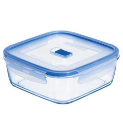 Pure Box Square Glass Containers
