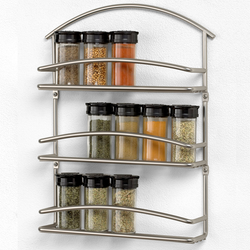 Wall Mounted Euro Spice Rack