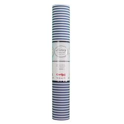 Fabric Pajama Stripe Drawer Liner
