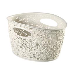 White Victoria basket