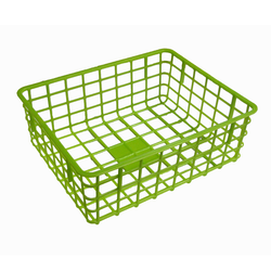 Grid Basket in green | Solutions